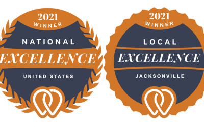Jax Media Team Announced as a 2021 National and Local Excellence Award Winner by UpCity!
